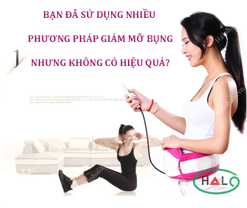 đai massage bụng magic